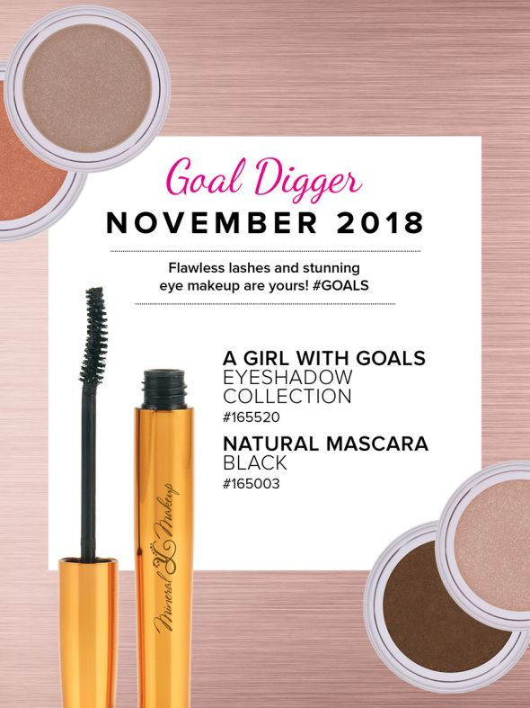 Mineral Makeup of the Month Club - November 2018