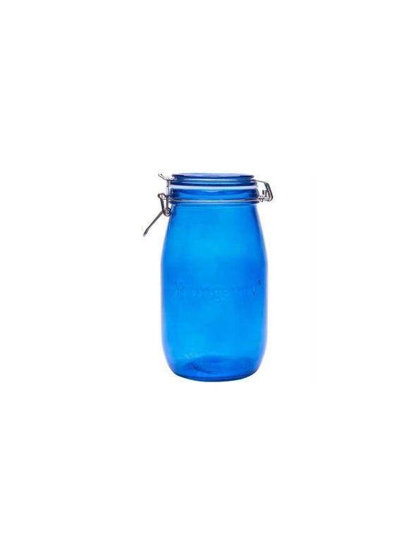 Youngevity - Blue 1.5L Mason Jar