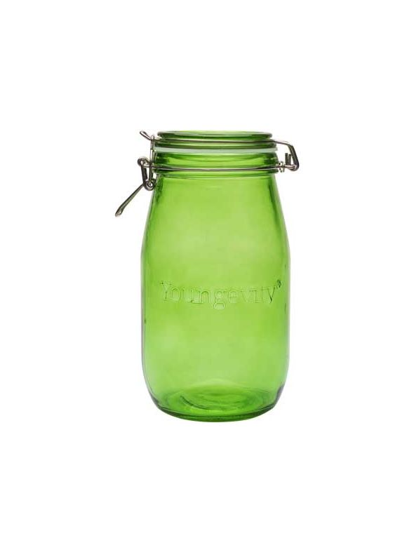 Youngevity - Green 1.5L Mason Jar